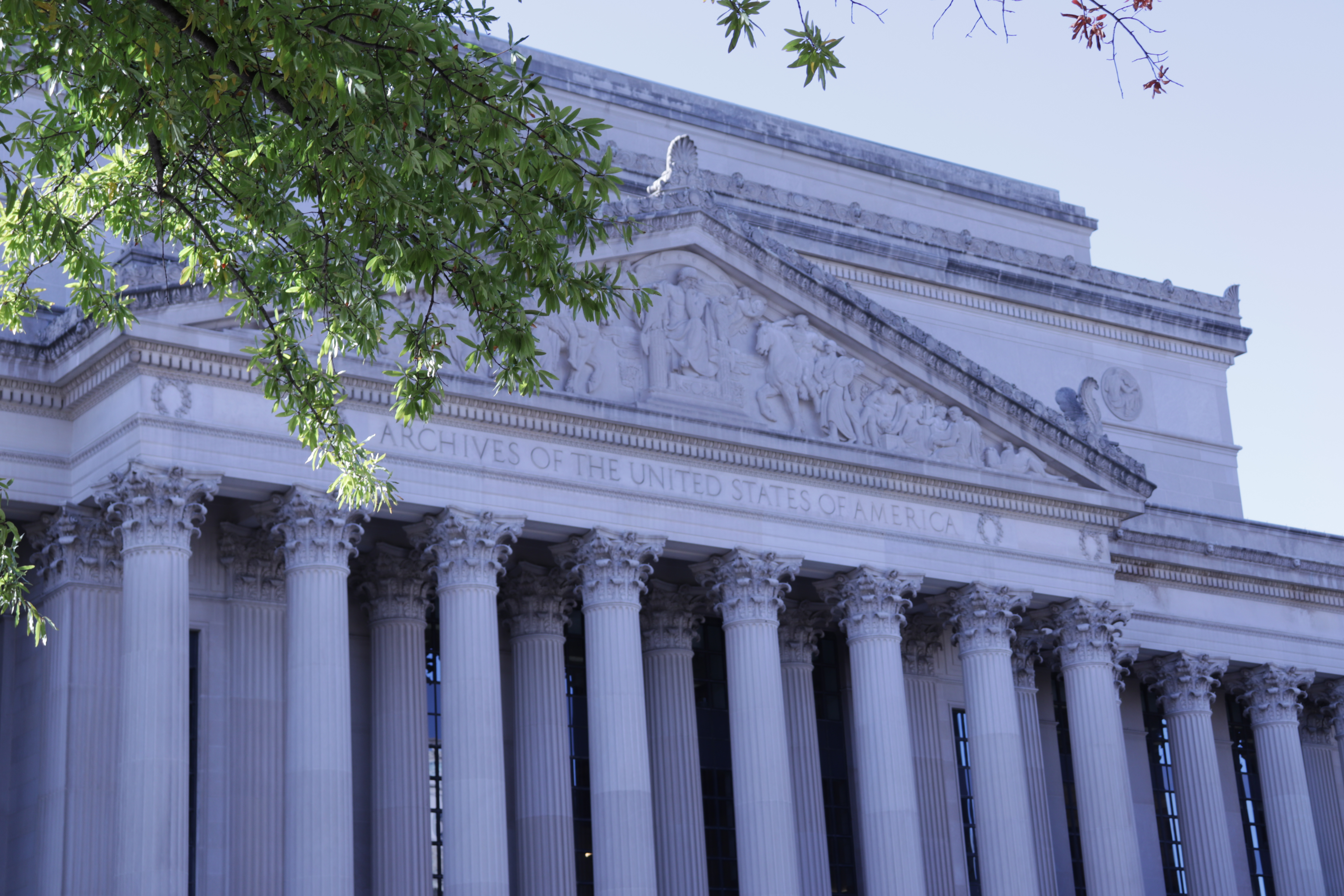 Photo of the National Archives