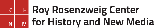 Roy Rosenzweig Center for History and New Media logo